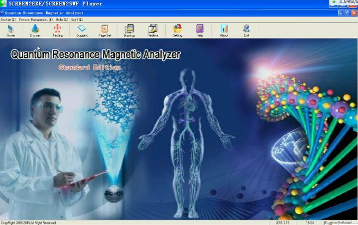 French Magnetic Resonance Bio-Analyzer