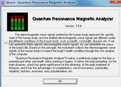 quantum resonance magnetic analyzer (26)