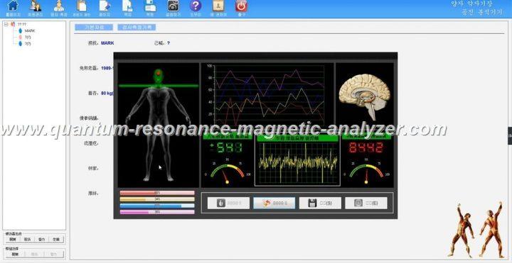 how to use the 양자 약 자기장 공진 분석기기 Korean version Quantum Resonance Magnetic Analyzer (9)