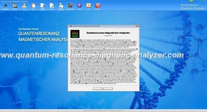 how to use the German version Quantum Resonance Magnetic Analyzer QUANTENRESONANZ MAGNETISCHER ANALYSATOR (17)