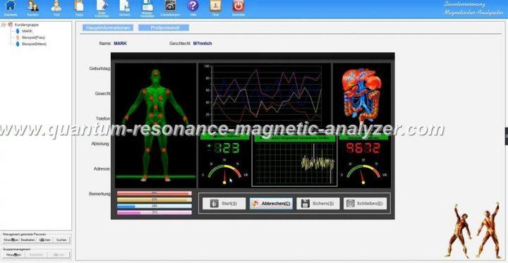 how to use the German version Quantum Resonance Magnetic Analyzer QUANTENRESONANZ MAGNETISCHER ANALYSATOR (6)