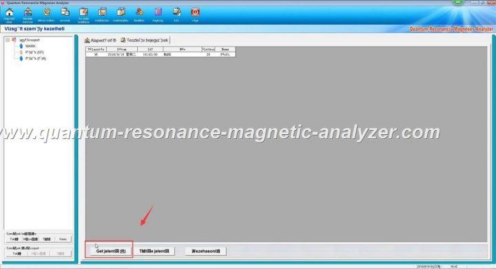 how to use the Hungarian version Quantum Resonance Magnetic Analyzer Quantum Rezonancia Mágneses Analyzer (14)