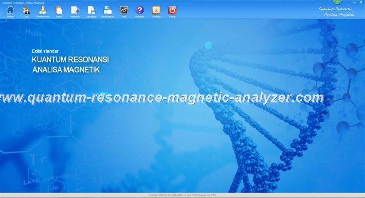 Quantum Resonance Magnetic Analyzer Kuantum Resonansi Analisa Magnetik  software teaching video