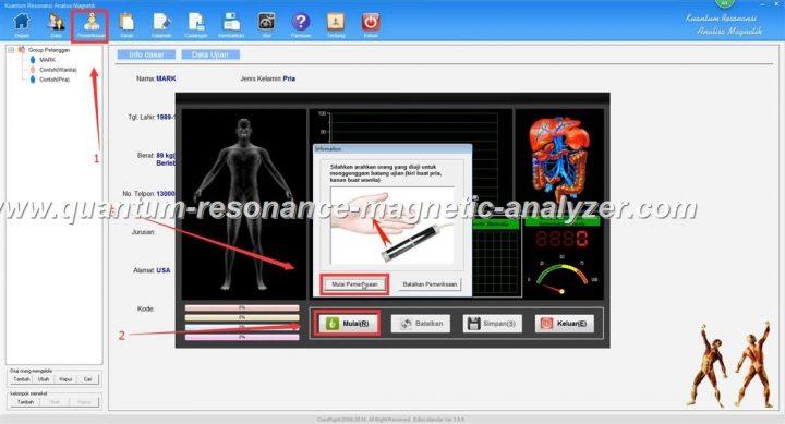 how to use the Indonesian version Quantum Resonance Magnetic Analyzer Kuantum Resonansi Analisa Magnetik (3)