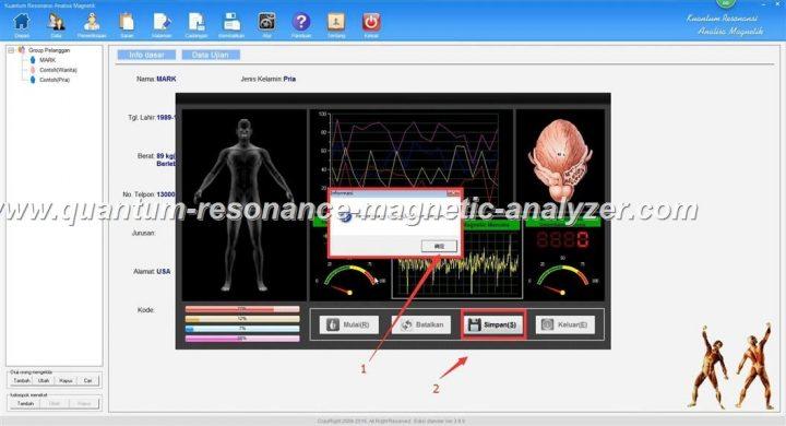 how to use the Indonesian version Quantum Resonance Magnetic Analyzer Kuantum Resonansi Analisa Magnetik (9)