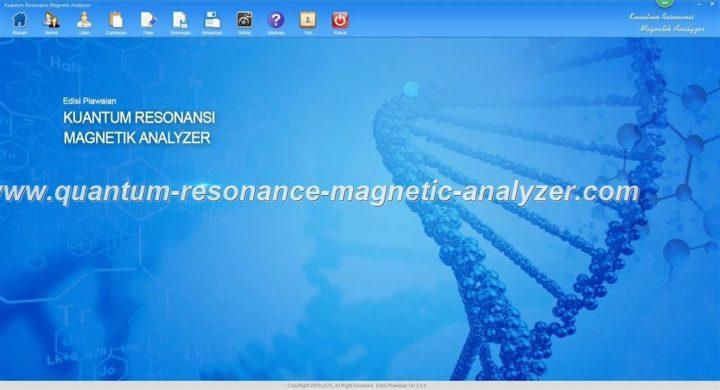 how to use the Kuantum Resonansi Magnetik Analyzer Malay3.9.9 version Quantum Resonance Magnetic Analyzer