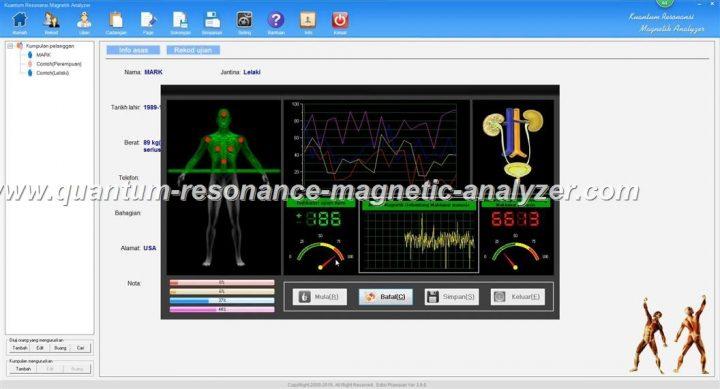 how to use the Kuantum Resonansi Magnetik Analyzer Malay3.9.9 version Quantum Resonance Magnetic Analyzer (5)