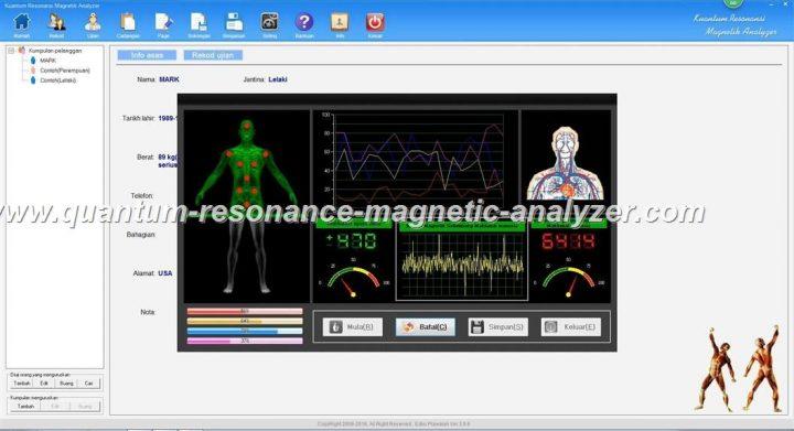 how to use the Kuantum Resonansi Magnetik Analyzer Malay3.9.9 version Quantum Resonance Magnetic Analyzer (9)