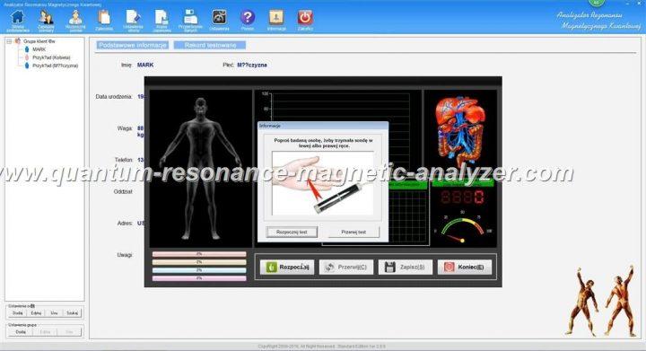 how to use the Polish version Quantum Resonance Magnetic Analyzer Analizator Rezonansu Magnetycznego Kwantowej  (3)