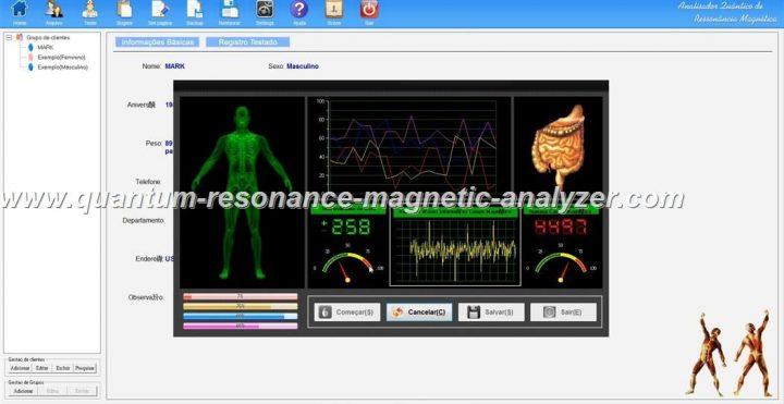 how to use the Portugal version Quantum Resonance Magnetic Analyzer Analisador Quântico de Ressonância Magnética  ( (7)