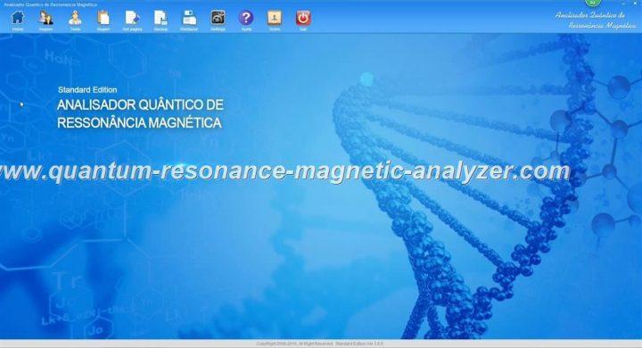 how to use the Portugal version Quantum Resonance Magnetic Analyzer Analisador Quântico de Ressonância Magnética