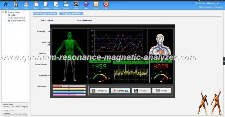 how to use the Portugal version Quantum Resonance Magnetic Analyzer Analisador Quântico de Ressonância Magnética  ( (8)
