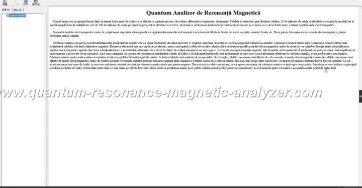how to use the Romanian3.9.9 version Quantum Resonance Magnetic Analyzer Quantum Analizor de Rezonanţă Magneti (16)