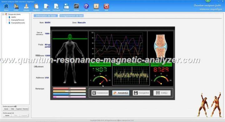 how to use the french version Quantum Resonance Magnetic Analyzer Quantum analyseur faible résonance magnétique (9)