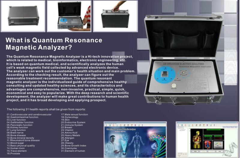 quantum magnetic resonance