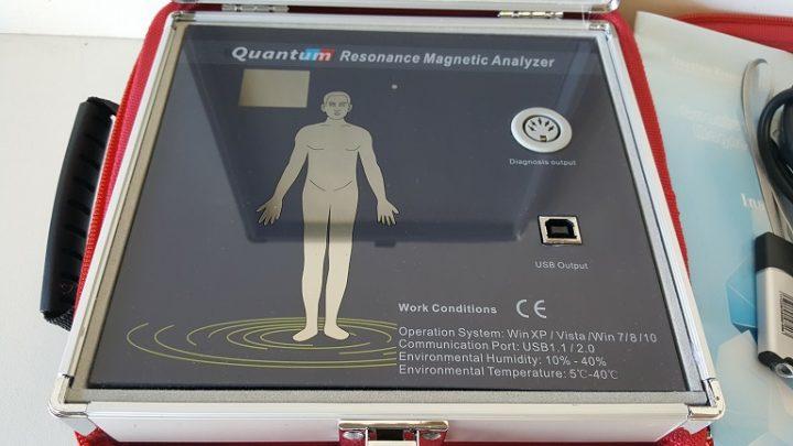 quantum resonance magnetic analysis