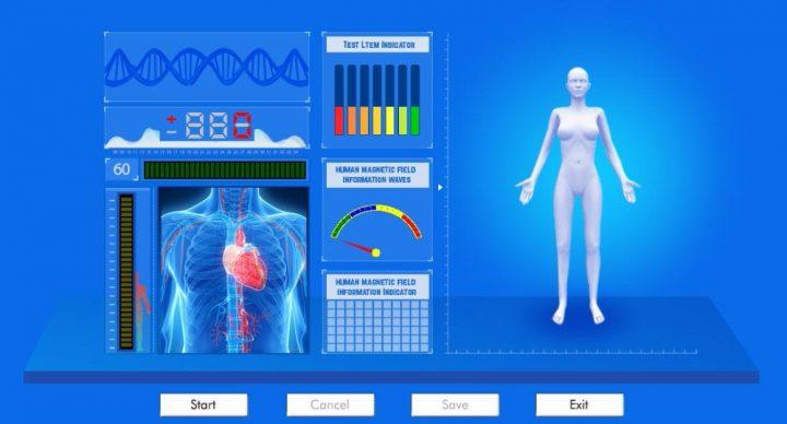 quantum resonance magnetic body health analyzer
