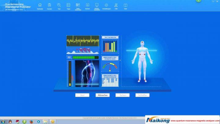 quantum health test machine