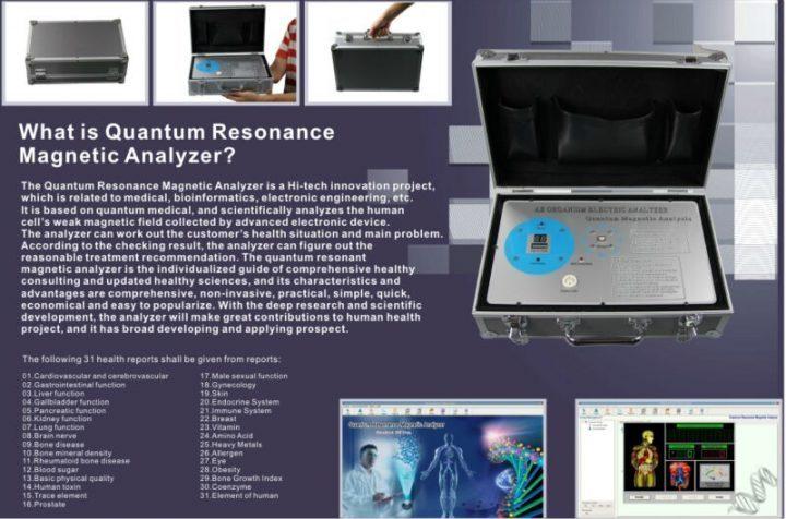 quantum magnetic analysis