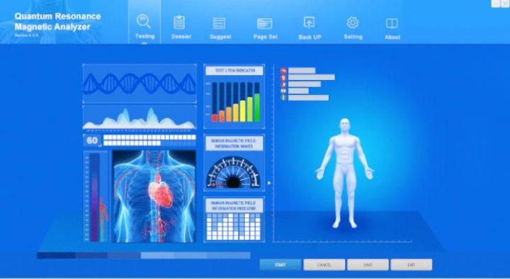 quantum body analyser machine