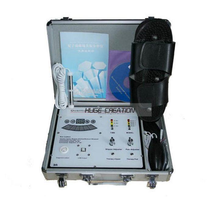 quantum analyzer with therapy machine
