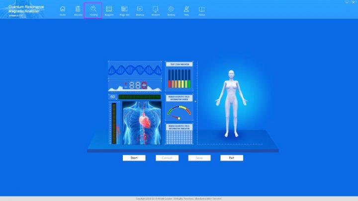 quantum bio electric body analyser