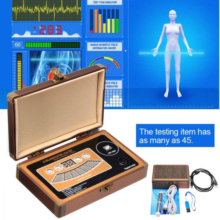how to use quantum resonance magnetic analyzer