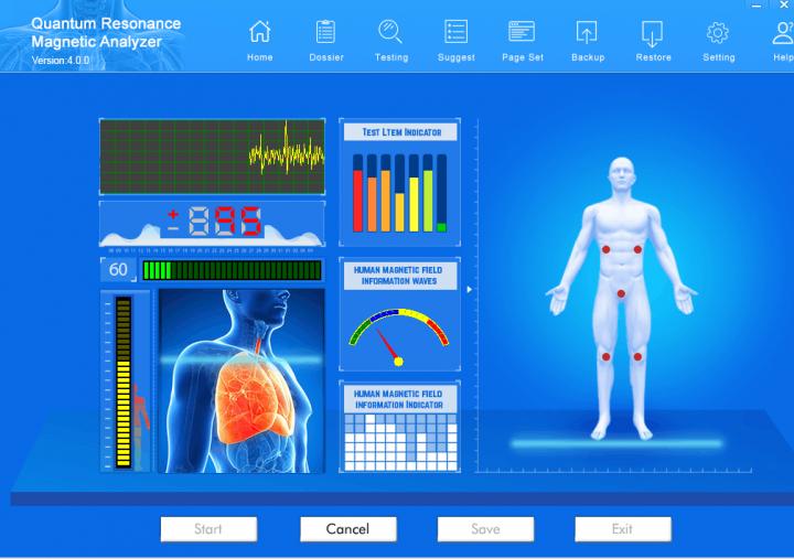 quantum resonance magnetic analyzer software download spanish