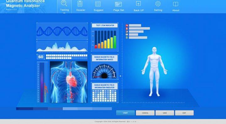 quantum health analyzer full body scan