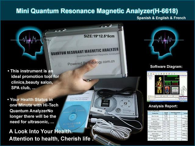 Quantum magnetic resonance body analyzer review