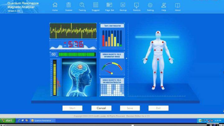 Quantum magnetic resonance body analysis review
